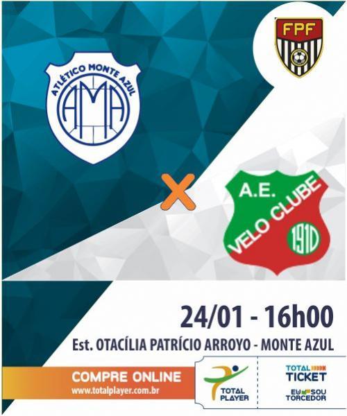 MONTE AZUL X VELO CLUBE