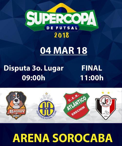 SUPER COPA FUTSAL - FINAL