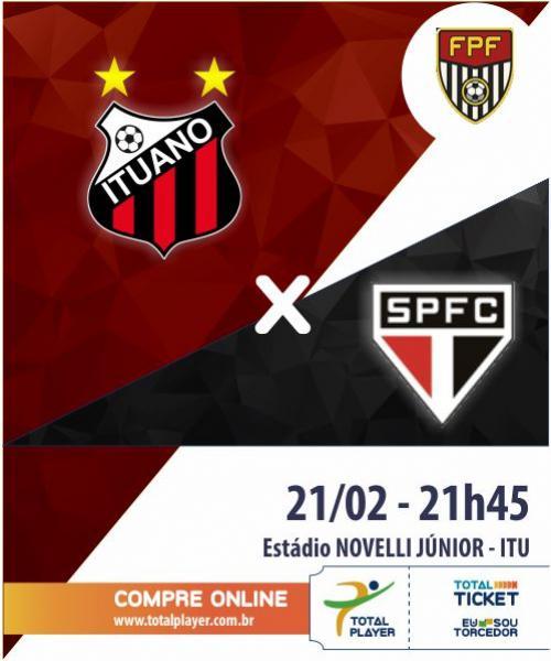 ITUANO X SÃO PAULO FC