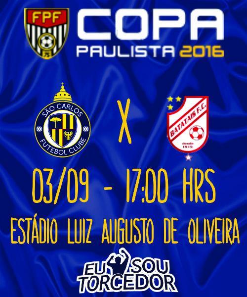 SAO CARLOS FC X BATATAIS