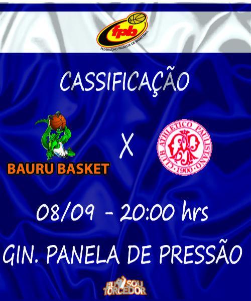 BAURU BASKET X PAULISTANO