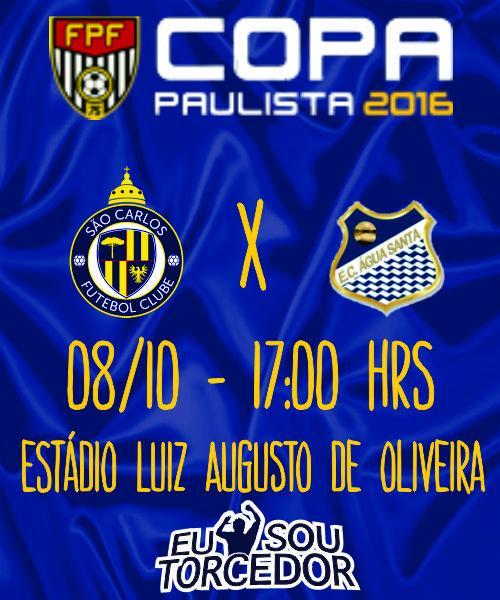 SAO CARLOS FC X AGUA SANTA