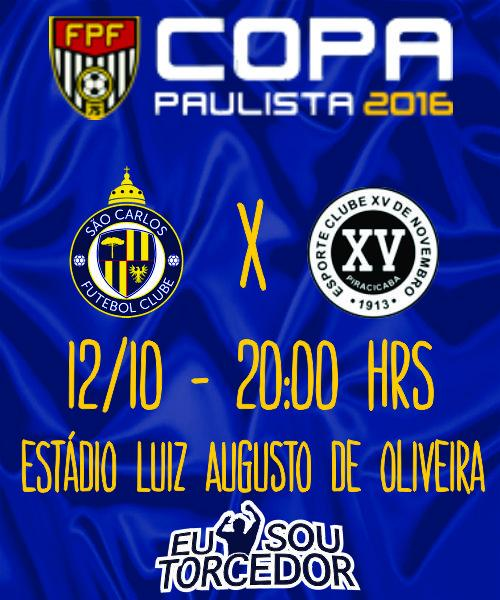 SAO CARLOS FC X XV PIRACICABA