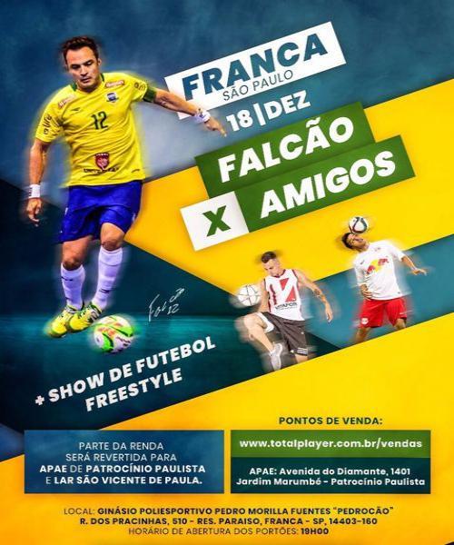 FALCAO 12 X AMIGOS